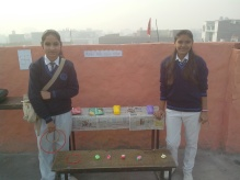 game stalls ready neha and shruti
