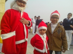 little santa motu santa and yash